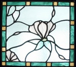 Stained Glass Skylight - Gladiola